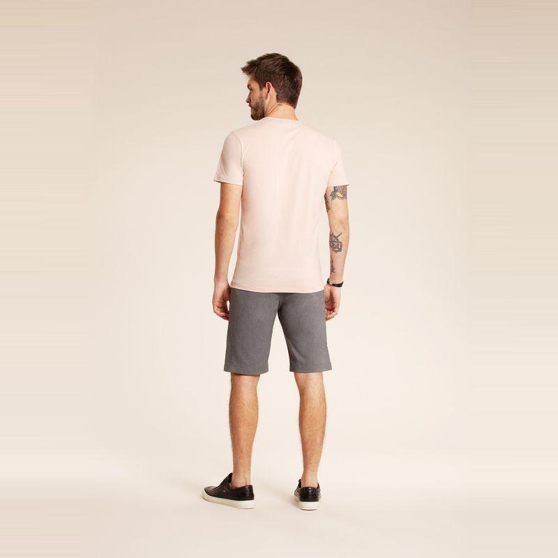 Camiseta manga curta estampa Lobo Rosa Kenya 85102177-1455_3