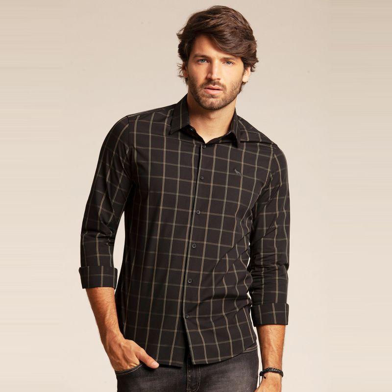Camisa manga longa xadrez 85101072-1541_1
