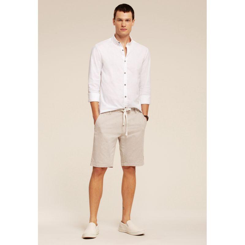 Camisa manga longa confort