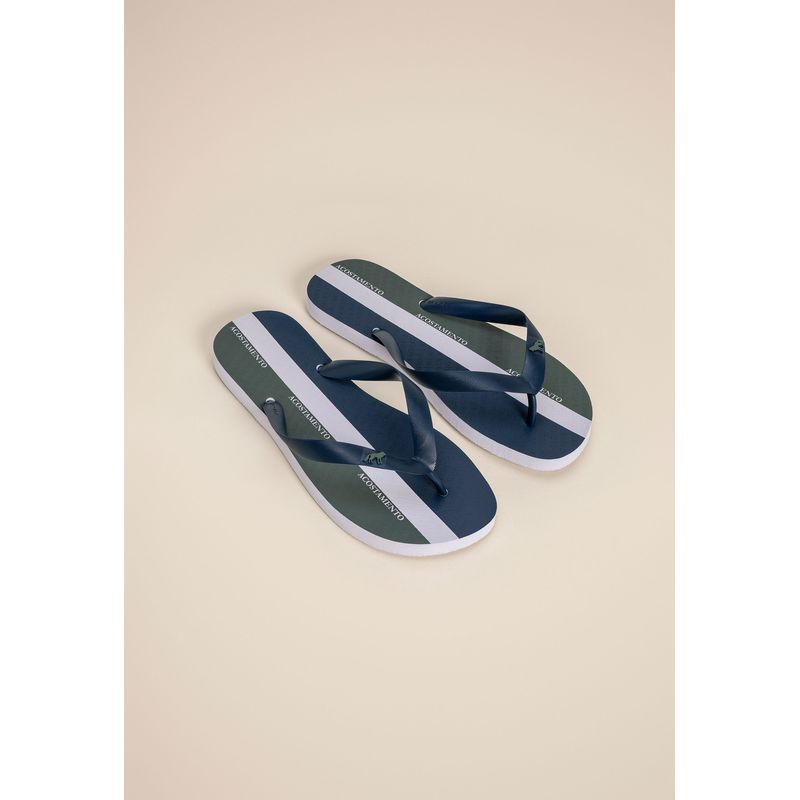 Chinelo Casual Listras