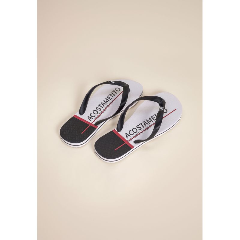 Chinelo Lettering Bicolor