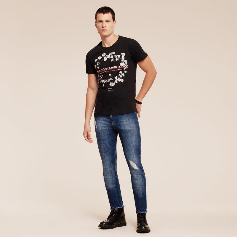 Calça Jeans Straight