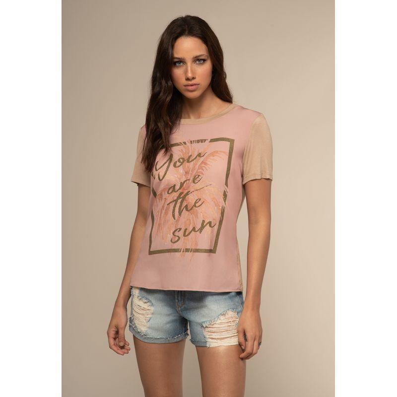 T-Shirt Viscose Mix Texturas
