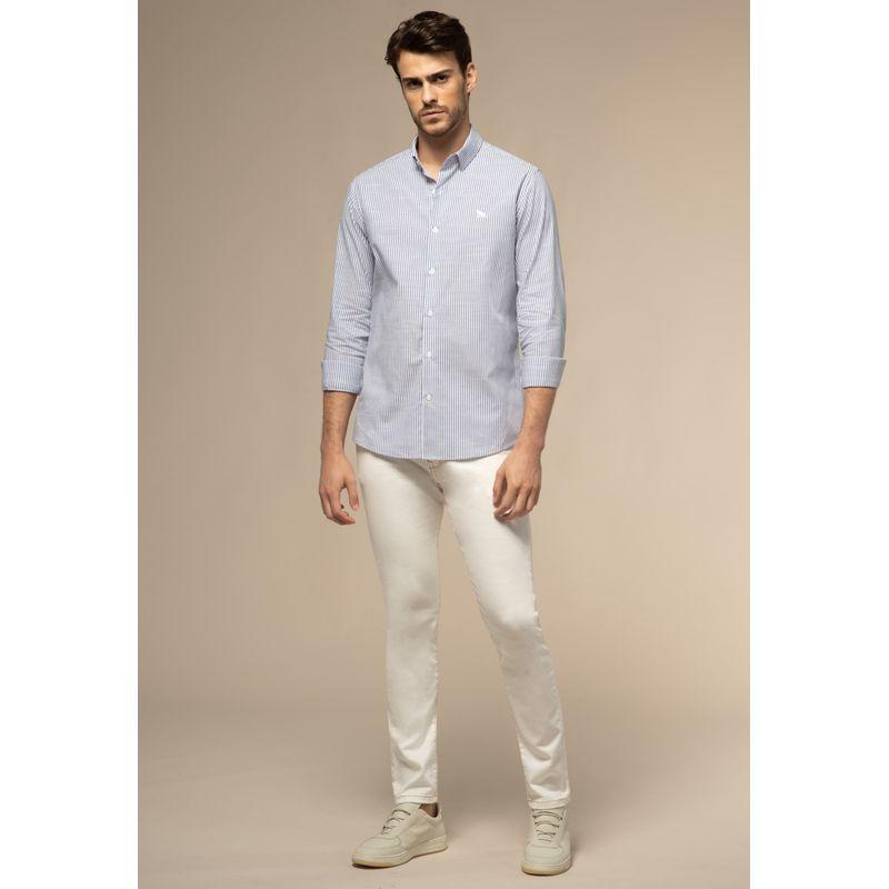 Camisa Acostamento Manga Longa Comfort