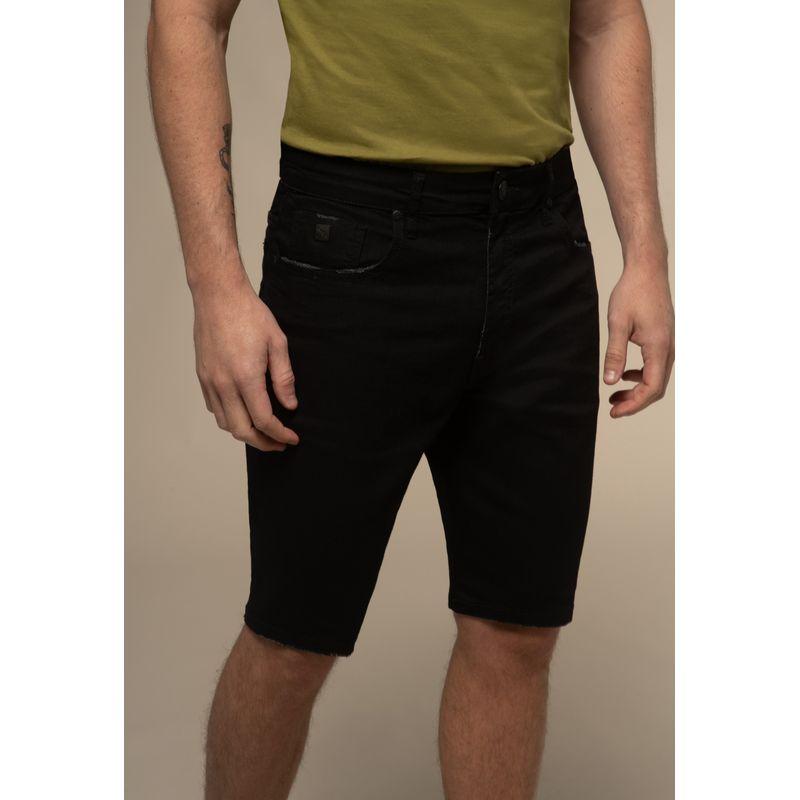 Bermuda Jeans Acostamento