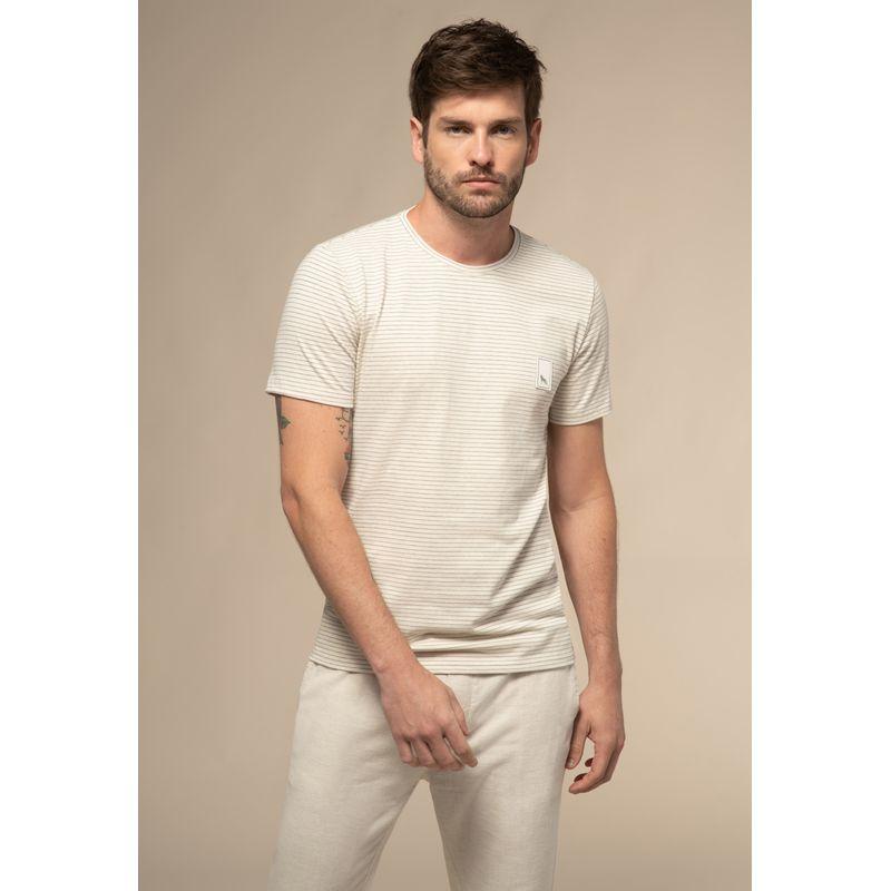 Camiseta Acostamento Blanc Listrada
