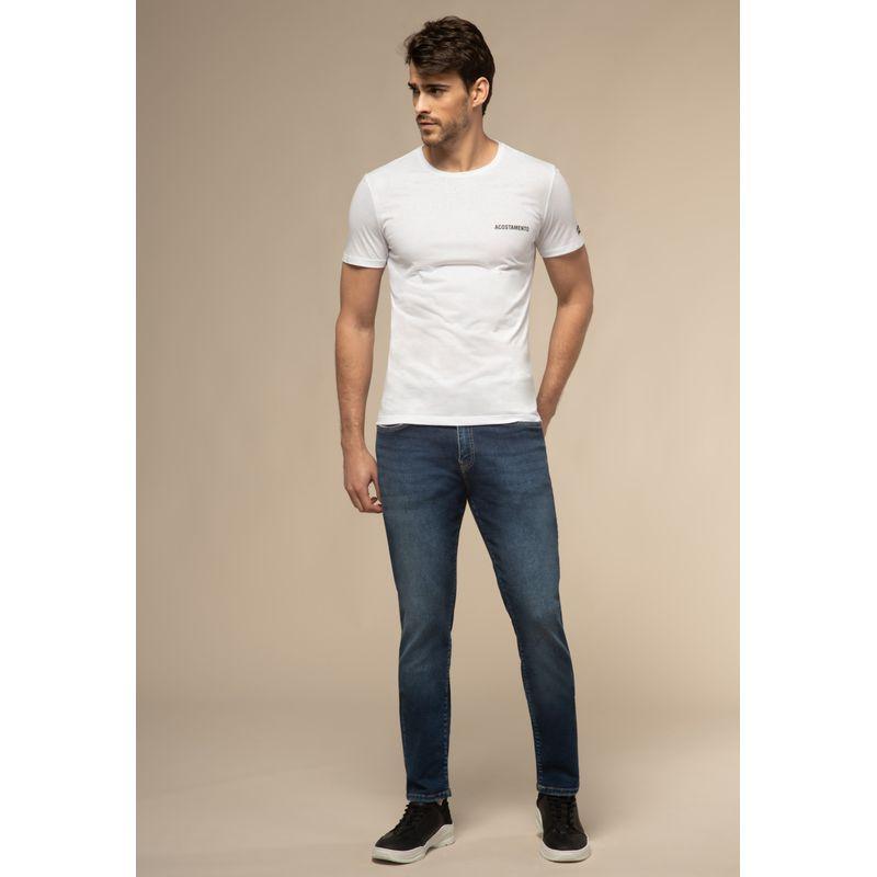 Calça Jeans Acostamento Rock