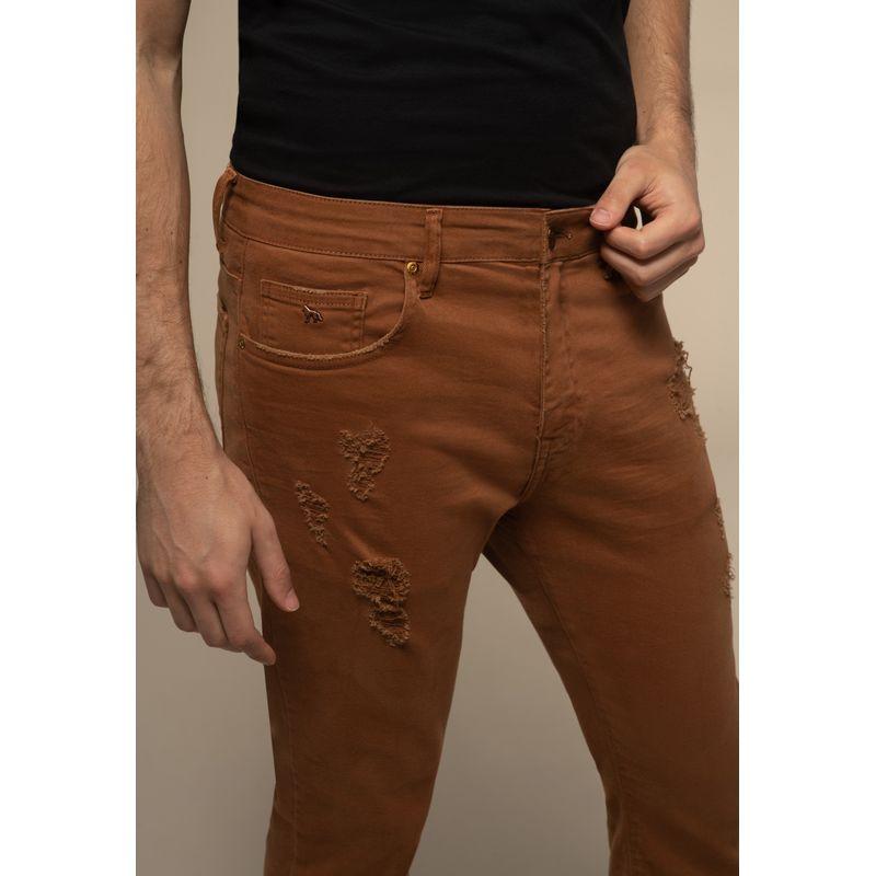 Calça Jeans Acostamento Rock Destroyed