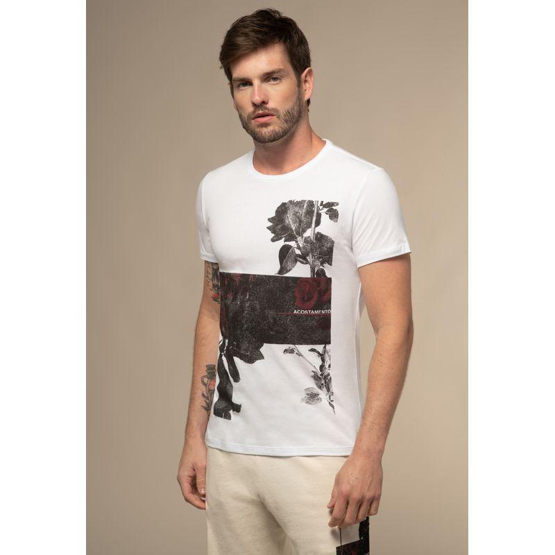 Camiseta Acostamento Black Estampada
