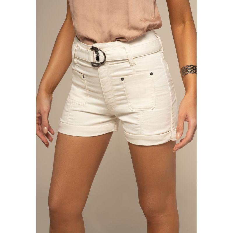 Short Jeans Detalhe Cinto