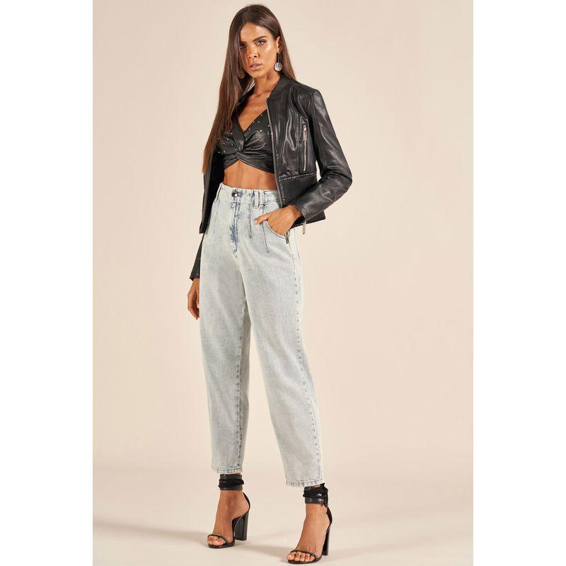 Calça Jeans Cintura Alta Cindy