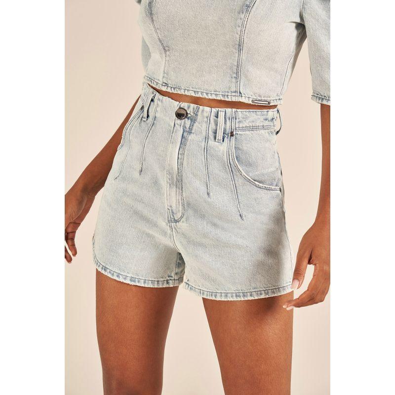 Short Jeans Cintura Alta Cindy
