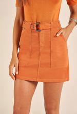Saia Jeans Gigi Cinto Couro Fake 89227011-2