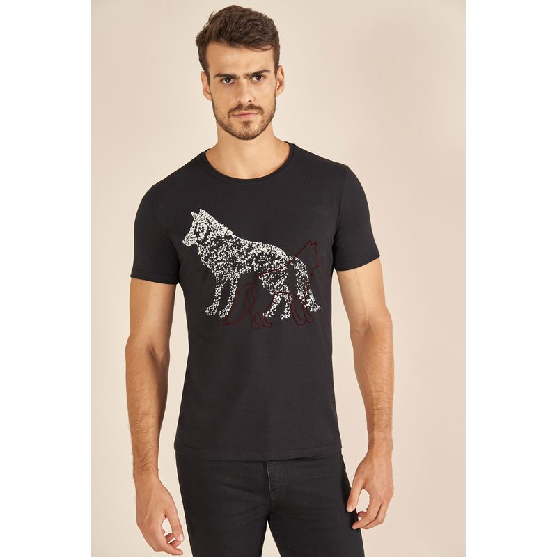 Camiseta Acostamento Black Wolf